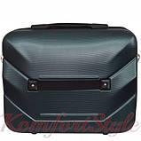 Комплект чемодан и кейс Bonro 2019 маленький изумрудный (10501009), фото 6