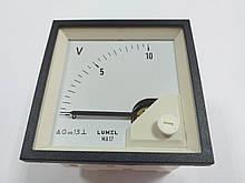 Аналоговый вольтметр MA17N A606 10V LUMEL Польша с НДС