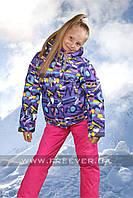 Детский лыжный костюм для девочки FREEVER 320к фиолетовый