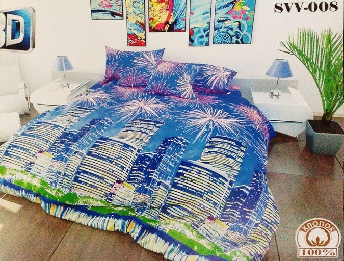 Двуспальный Макси комплект постельного белья