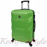 Комплект чемодан и кейс Bonro 2019 маленький  салатовый (10501005), фото 3