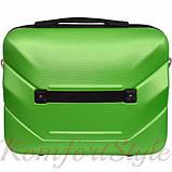 Комплект чемодан и кейс Bonro 2019 маленький  салатовый (10501005), фото 6