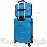 Комплект чемодан и кейс Bonro 2019 средний голубой (10501103), фото 2