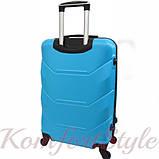 Комплект чемодан и кейс Bonro 2019 средний голубой (10501103), фото 4
