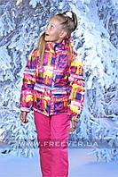 Детский лыжный костюм для девочки FREEVER 320к розовый