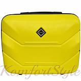 Комплект чемодан и кейс Bonro 2019 средний желтый (10501100), фото 6
