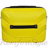Комплект чемодан и кейс Bonro 2019 средний желтый (10501100), фото 7