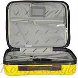 Комплект чемодан и кейс Bonro 2019 средний желтый (10501100), фото 8