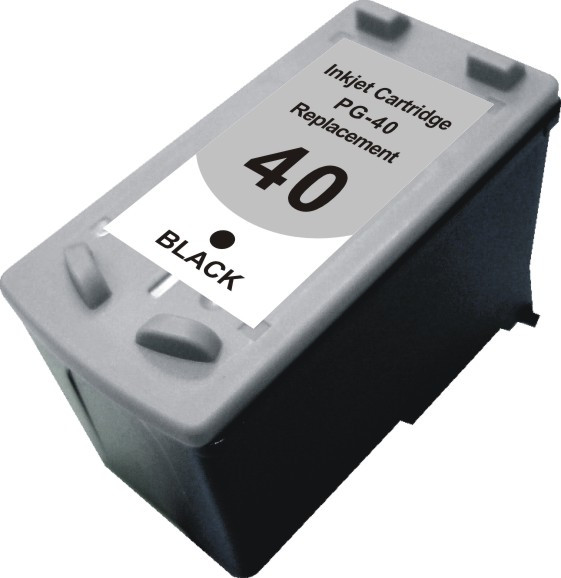 Картридж MicroJet для Canon PIXMA MP140/460 аналог PG-40Bk (0615B025) Black (CC-H40B)