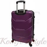 Комплект чемодан и кейс Bonro 2019 маленький  сиреневый (10501006), фото 4