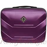Комплект чемодан и кейс Bonro 2019 маленький  сиреневый (10501006), фото 6
