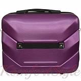 Комплект чемодан и кейс Bonro 2019 маленький  сиреневый (10501006), фото 7