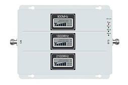 Трехдиапазонный репитер GSM DCS 3G/4G усилитель Lintratek KW20L-GDW 900+1800+2100