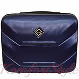 Комплект чемодан и кейс Bonro 2019 маленький  темно-синий (10501004), фото 6