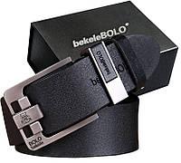 Мужской Кожаный Брючный Ремень Bolo Bekele 120 см