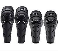 Комплект шарнирной защиты колен и локтей для мотоциклистов Fox