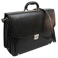 Большой деловой портфель из кожзаменителя TOMSKOR 81585, фото 1