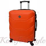 Комплект чемодан и кейс Bonro 2019 средний оранжевый (10501101), фото 3