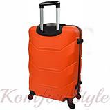 Комплект чемодан и кейс Bonro 2019 средний оранжевый (10501101), фото 4