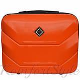 Комплект чемодан и кейс Bonro 2019 средний оранжевый (10501101), фото 6