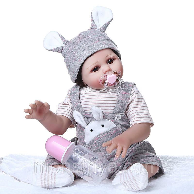 Кукла- реборн Девочка полностью винил-силиконовая