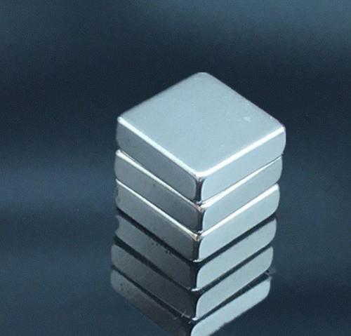 Пластина квадрат неодимовий 15х15х5 мм, зчеплення 5кг, N42