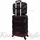 Комплект чемодан и кейс Bonro 2019 средний чёрный (10501107), фото 2