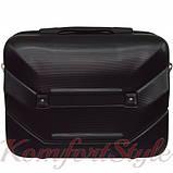Комплект чемодан и кейс Bonro 2019 средний чёрный (10501107), фото 7