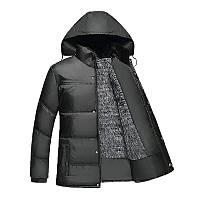 Мужская  куртка  размер 44 (XL). Мужские зимние куртки оптом. FS-6567-10, фото 1