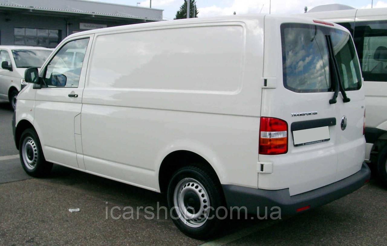 Скло VW. Transporter T-5 03 - Тил Лівий без Е/О DG