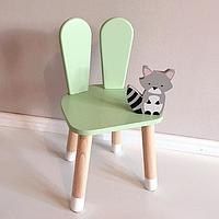 Детский деревянный стульчик Зайчик