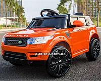 Детский электромобиль M 3402 EBLR-7 с мягким сиденьем, оранжевый