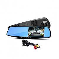 """Видеорегистратор зеркало Blackbox DVR L9000 + Камера заднего вида! Full HD 1080p TFT 4,3"""" 12MP"""