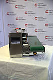 Настольный запайщик конвейерного типа FR-900S с датировщиком, фото 4