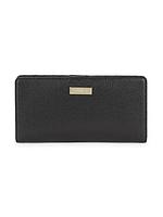Женский оригинальный черный кошелек из сафьяновой кожи FURLA, фото 1