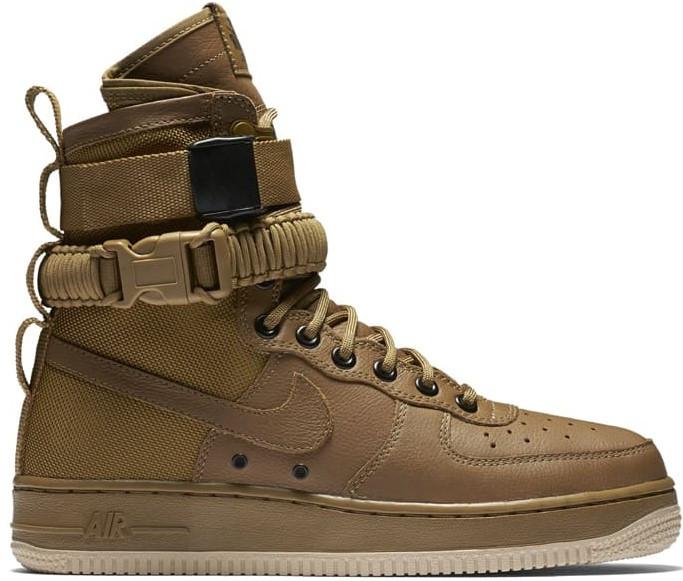 "Мужские зимние кроссовки Nike Air Force Special Field ""Brown"""