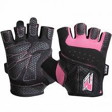 Жіночі рукавички для фітнесу RDX L Pink