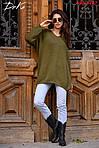 Об'ємний в'язаний светр оверсайз, фото 4