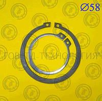 Кольцо стопорное наружное DIN471 Ф58,, фото 1