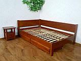 Угловая деревянная кровать Шанталь, фото 2