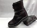 Стильные зимние кожаные ботинки на молнии Terra Grande, фото 4