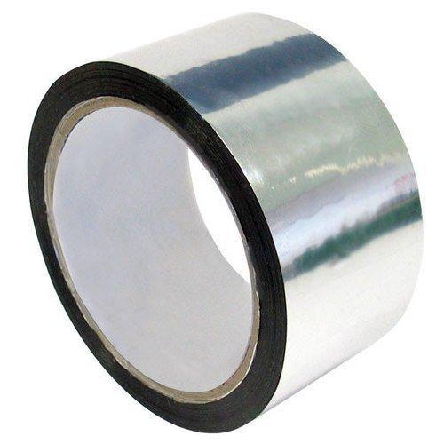 Теплостойкая монтажная клейкая лента Silver Tape HPX, 50мм x 25м (скотч)