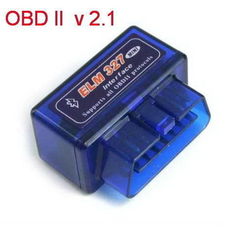 Автомобильный сканер Elm 327 v2.1 OBD2 Bluetooth