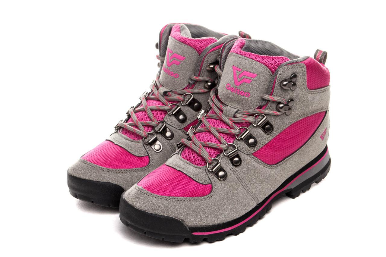 Жіночі кросівки Gelteo Women Greyfuchia 41 Grey Pink