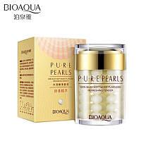 Влажняющий антивозрастной крем для лица с натуральной жемчужной пудрой BioAqua Pure Pearls 60 ml