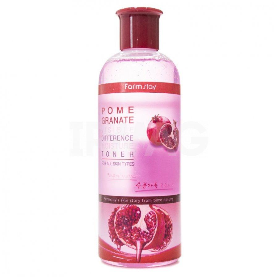 Увлажняющий тонер с гранатом FarmStay Pomegranate Visible Difference Moisture Toner, 350ml