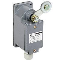 Выключатель концевой ВП 16Г-23Б-231-55 У2.3 рычаг с роликом-cамовозврат 1з+1р IP55 IEK
