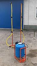 Опрыскиватель АТВ-50 для мотоблока  (50 л) (нержавейка)Бут