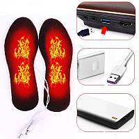 Стельки с подогревом от внешнего аккумулятора, USB - кабель