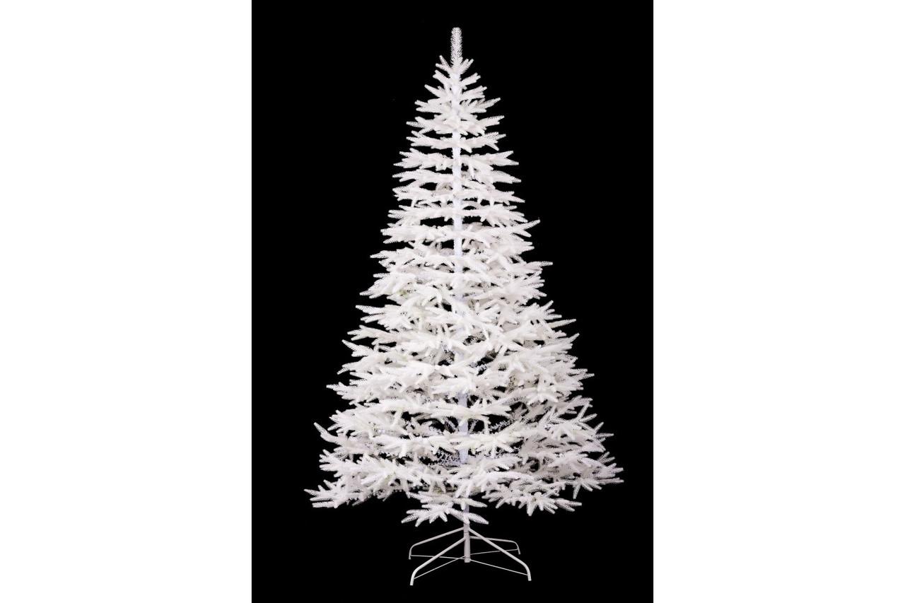 Ель искусственная новогодняя Литая Альпийская Белая 180см ЛА-1,80